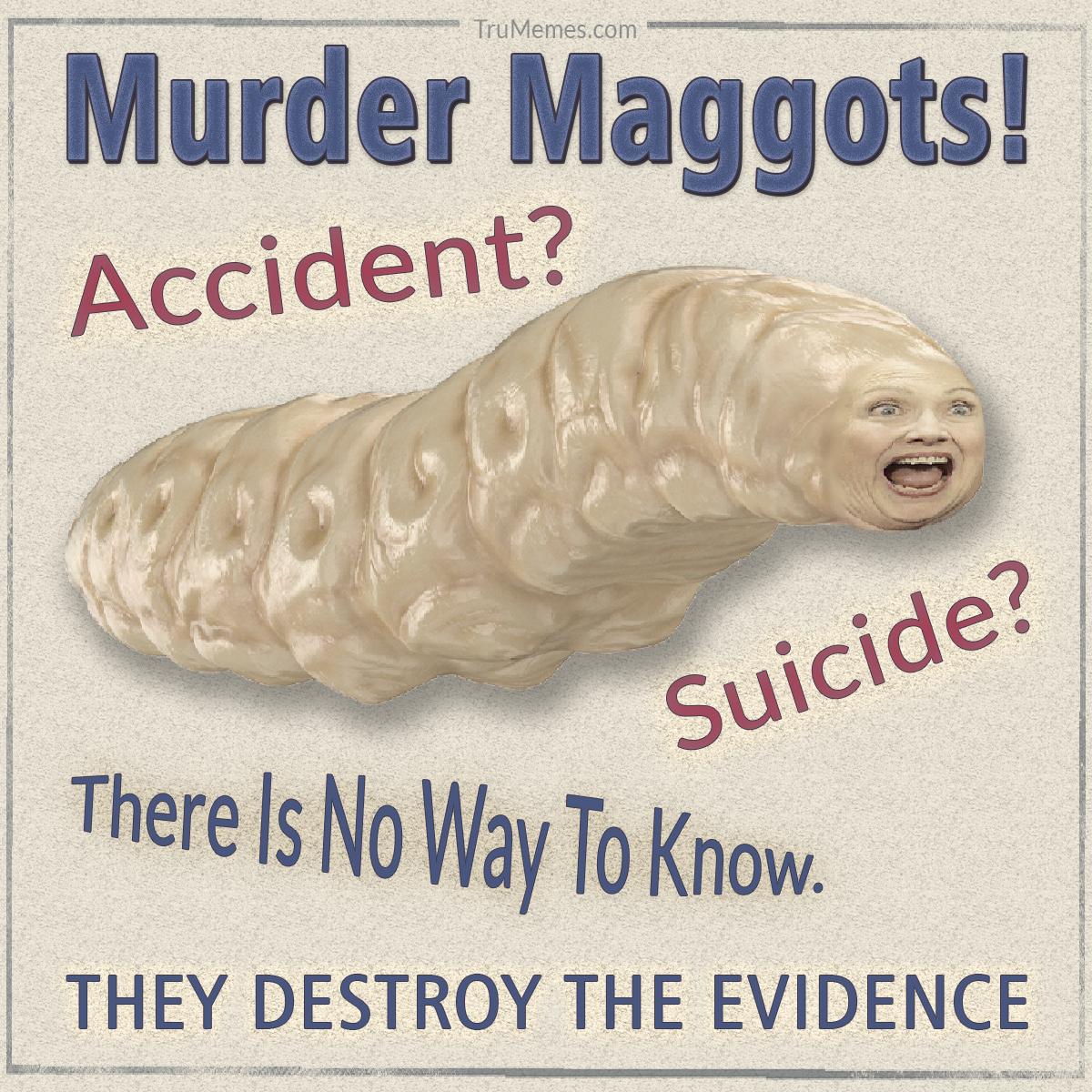 Hillary Murder Maggots