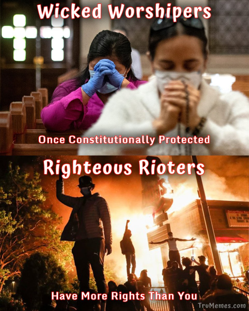 Righteous Rioters VS Wicked Worshipers