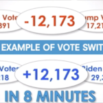 Georgia's Clear Example Of Vote Switching